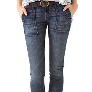 Current/Elliott Combat Skinny jeans